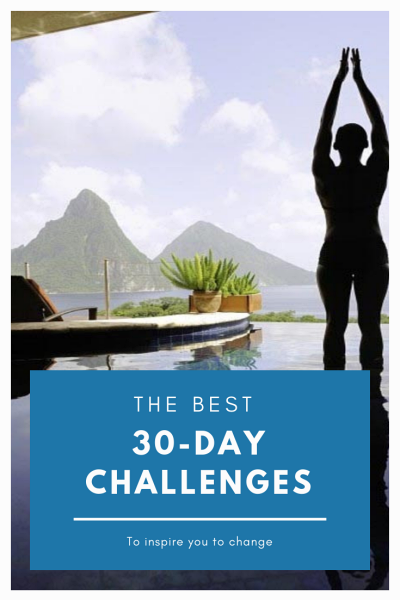 30 Days of Challenges and Inspirations For Change
